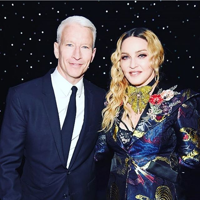 WithThe Amazing Anderson Cooper! Thank you for your kind words!hellip