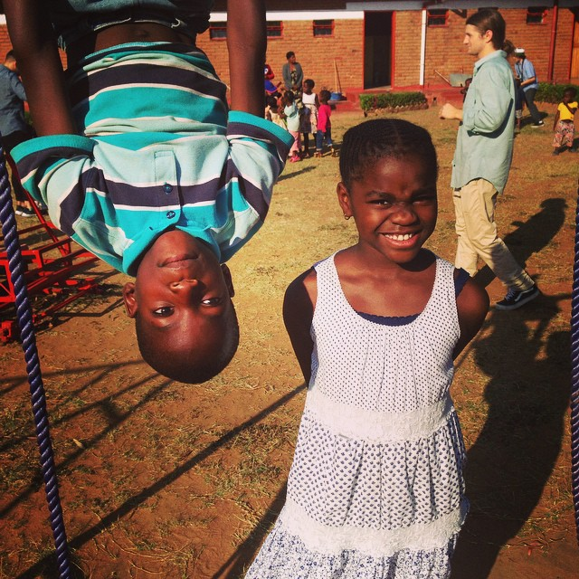 The World is upside down!  Count your blessings! They are endless...............@raisingmalawi.