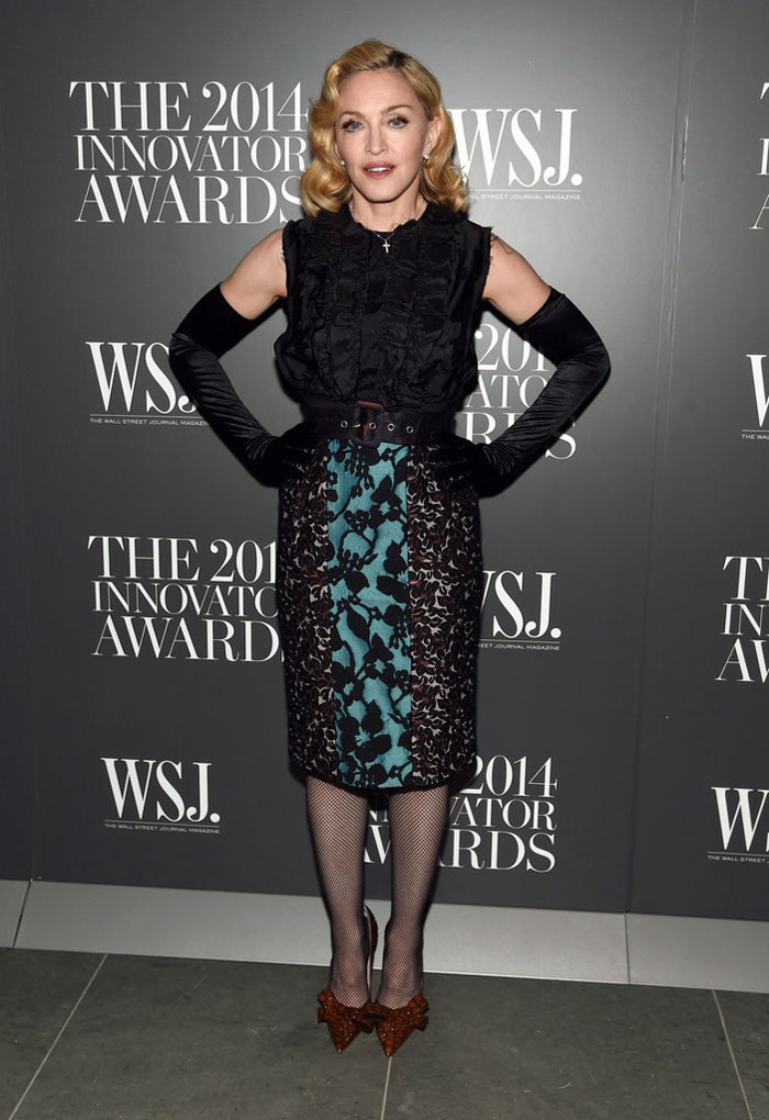 Madonna attends the WSJ Innovator Awards
