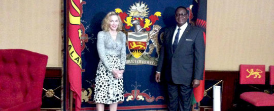 Madonna named Malawi goodwill ambassador on Child Welfare