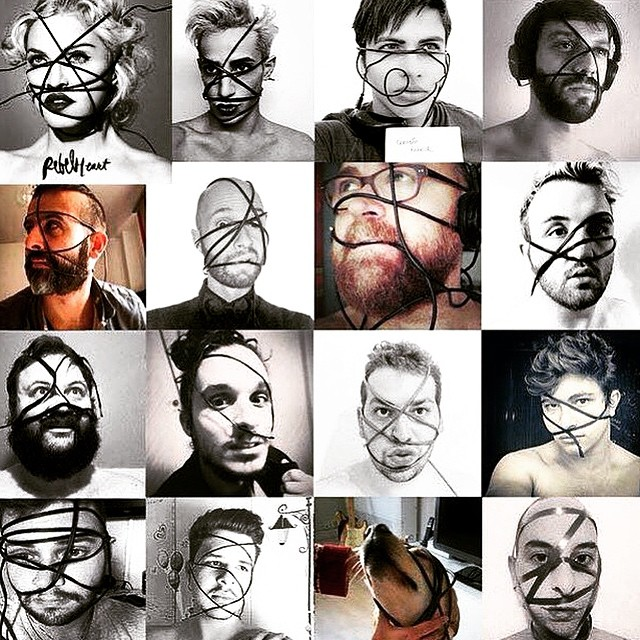 I love my fans creativity!!! Thanks for your support! ❤️#rebelheart ❤️#livingforlove