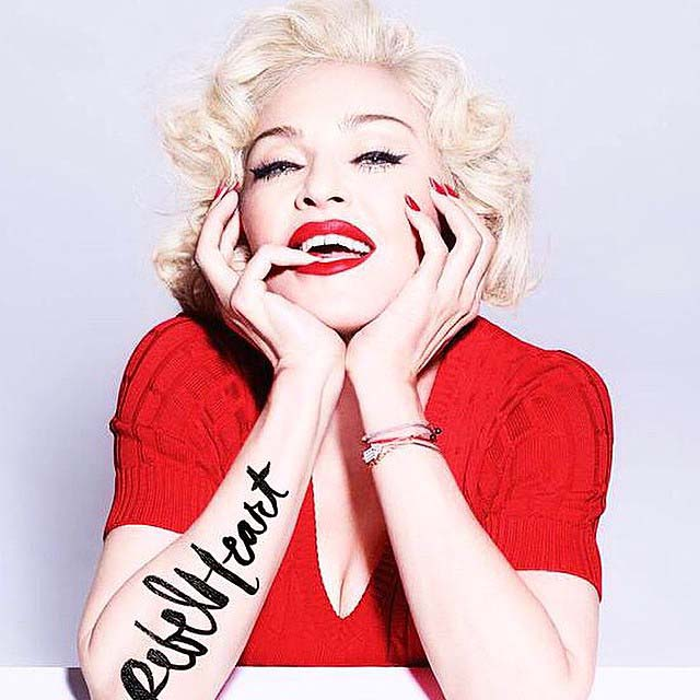 Rebel Heart alternate artwork