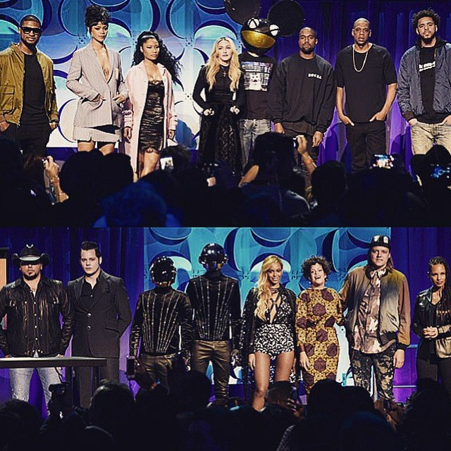 Tidal is not about consumption and greed!  Its about protecting an art-form that is beloved to all of us MUSIC! ❤️#rebelhearts stand together for what they believe in!