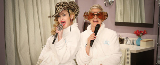 Madonna on The Ellen DeGeneres Show