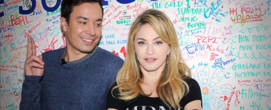 Madonna and Jimmy Fallon