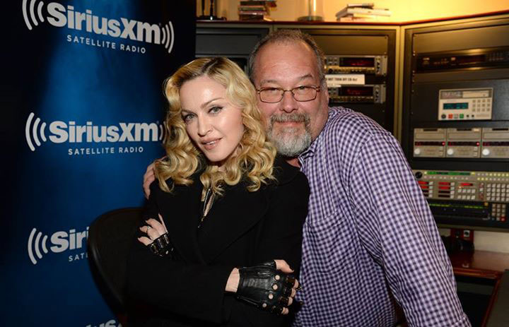 Madonna with Larry Flick