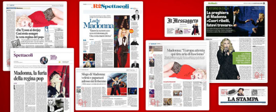 Rebel Heart in the Italian press
