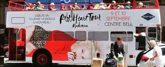 Rebel Heart Tour ad
