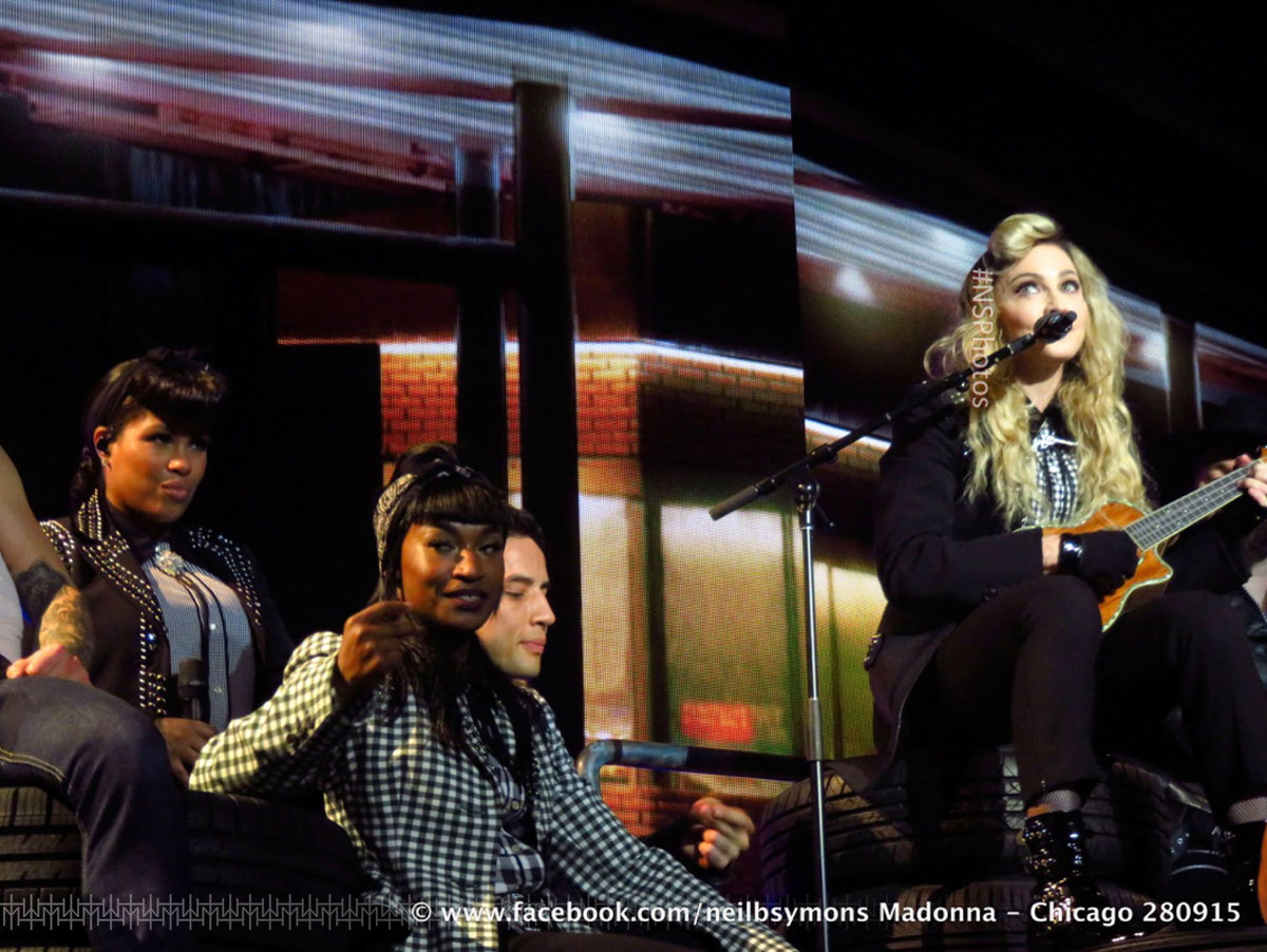 Rebel Heart Tour in Chicago