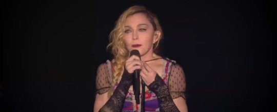 Madonna's speech in Stockholm