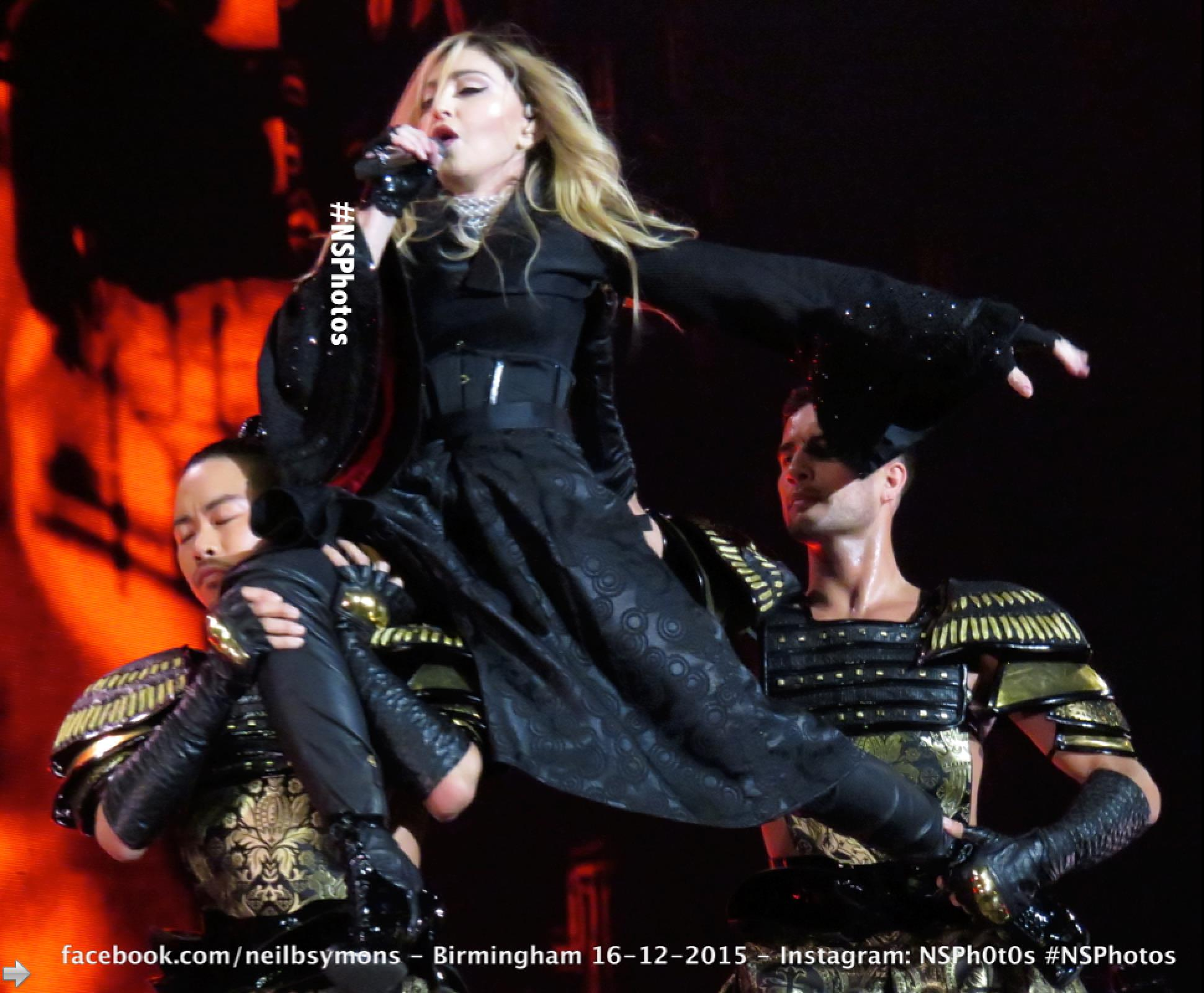 Rebel Heart Tour in Birmingham