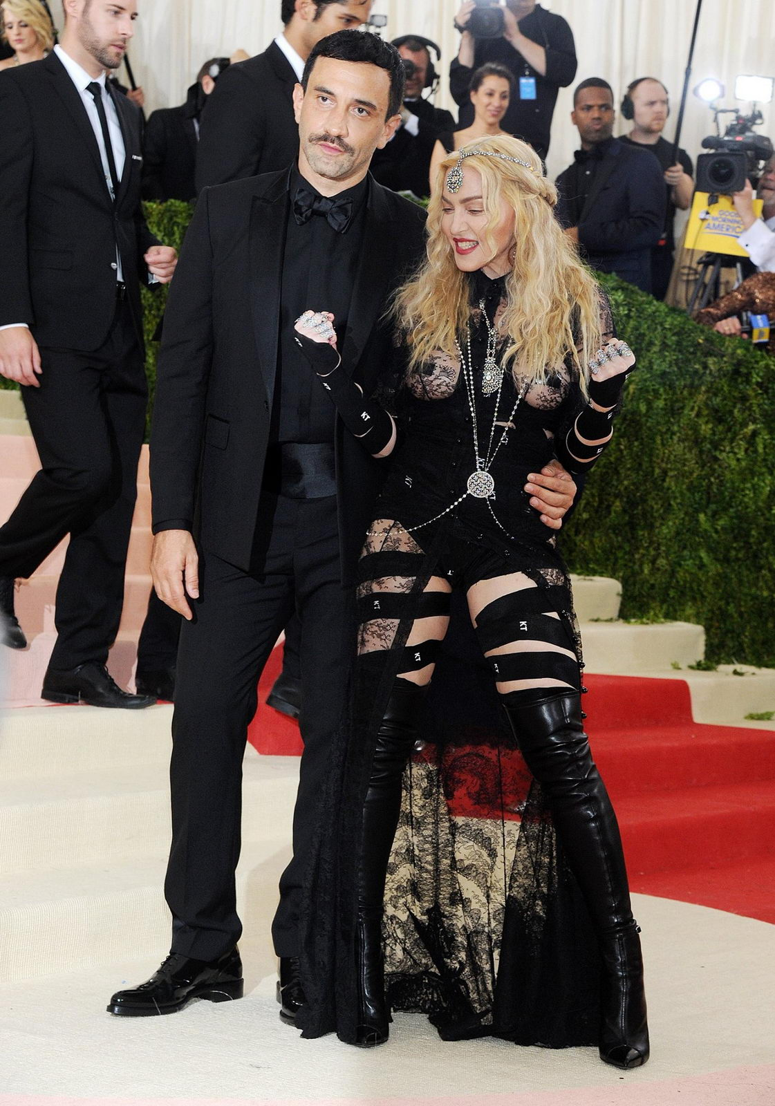 Madonna at the MET Costume Institute Benefit Gala