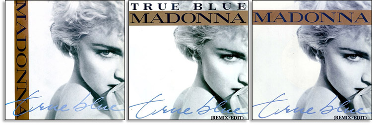 True Blue Artwork