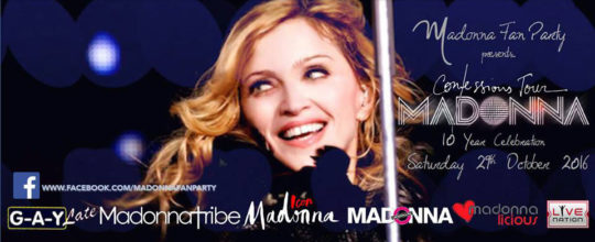 Madonna UK Fan Party