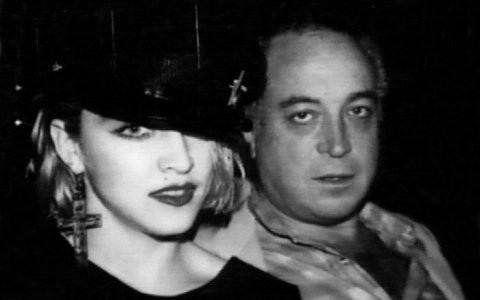 Madonna with Seymour Stein