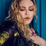 Madonna photographed backstage at the 2016 Women in Music awards on Dec. 9, 2016 at Pier 36 in New York City.