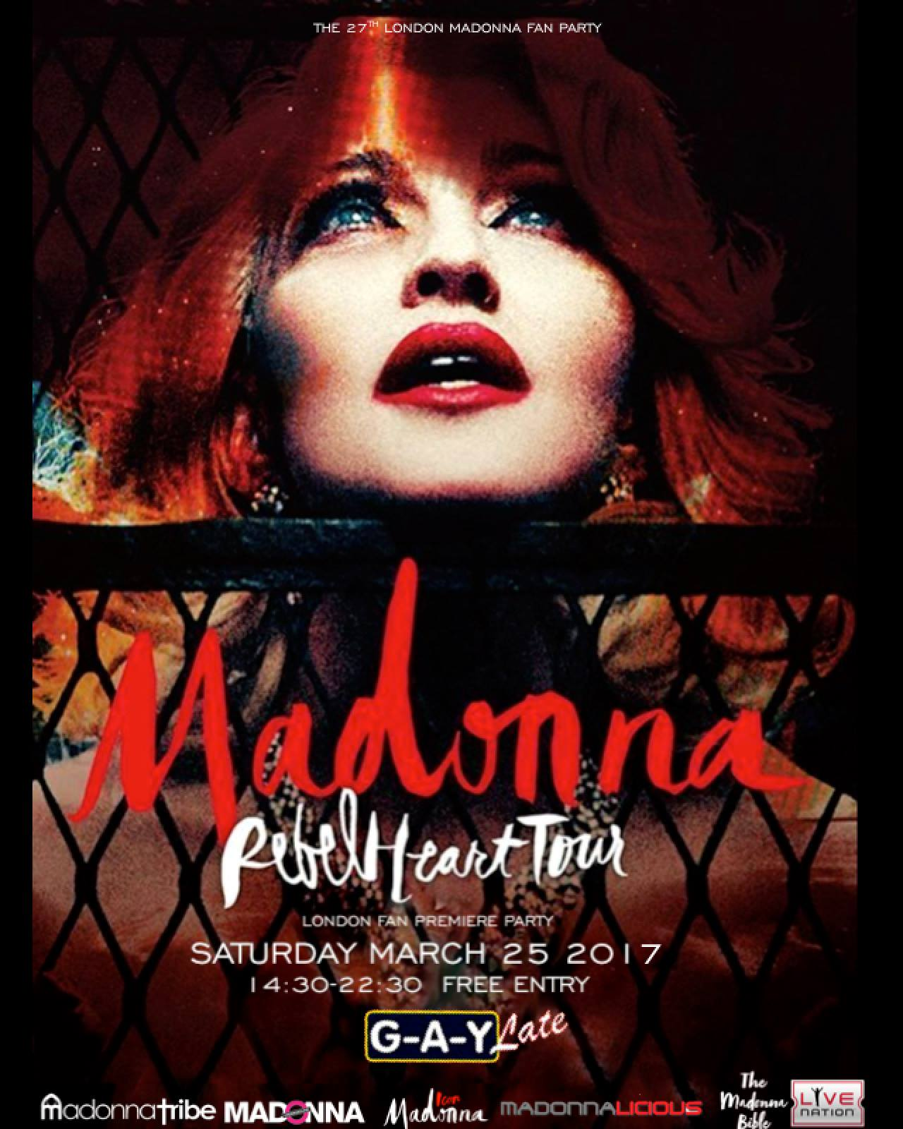Madonna Fan Party UK