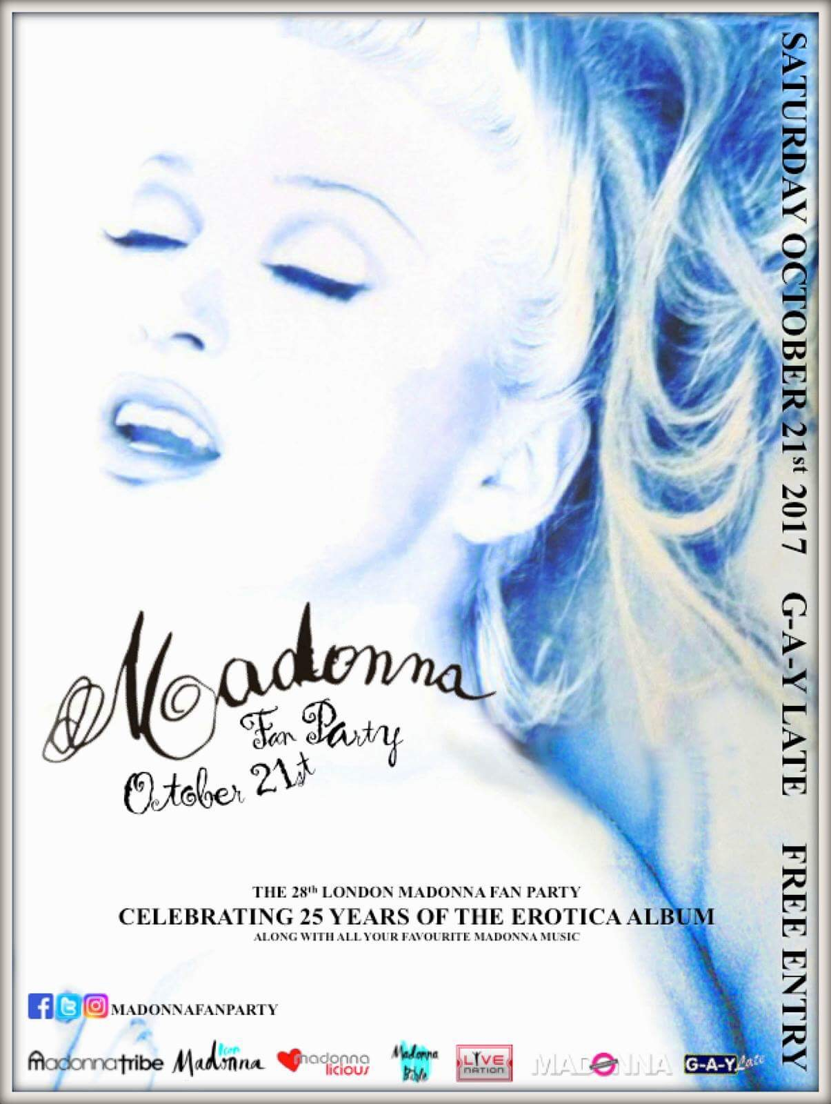 The 28th London Madonna Fan Party