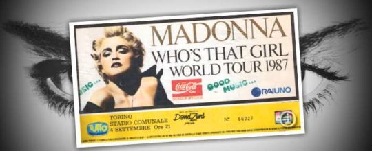 Who's That Girl World Tour 1987 in Torino