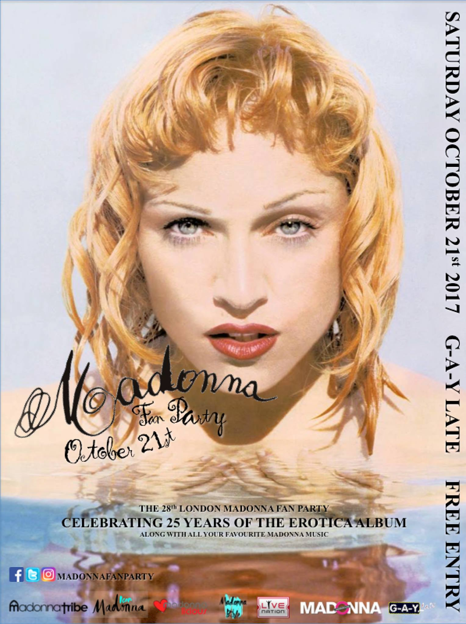 28th Madonna Fan Party