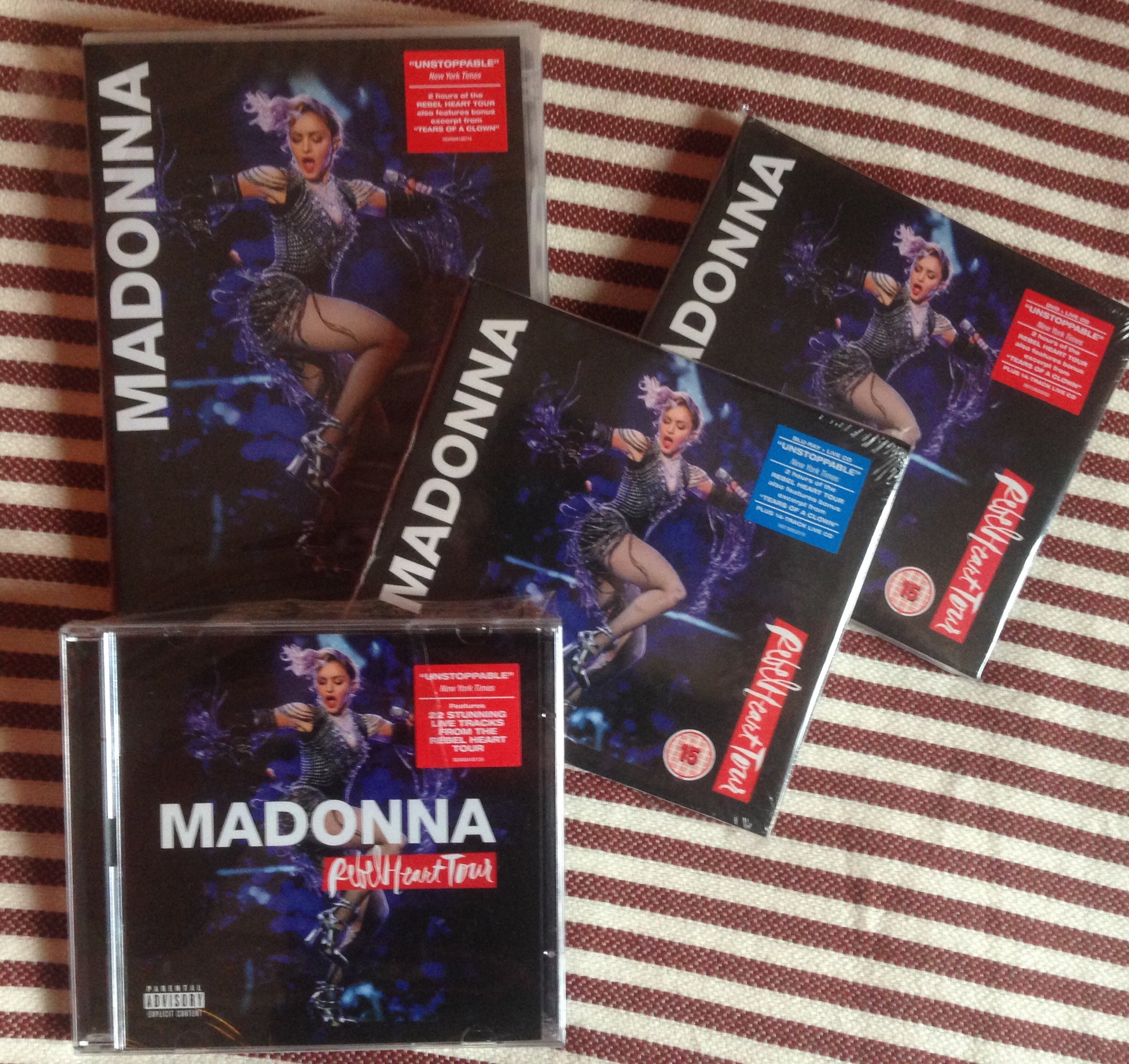 Rebel Heart Tour Home Video