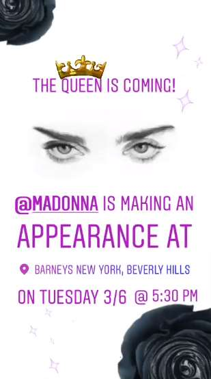 MDNA Skin event at Barneys Beverly Hills