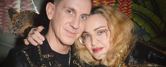 Madonna and Jeremy Scott
