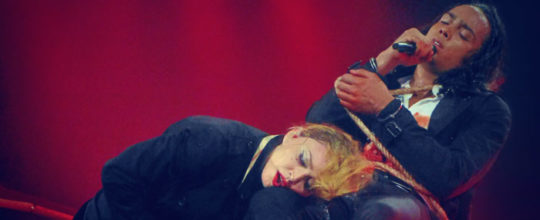 Madonna with Marvin Gofin