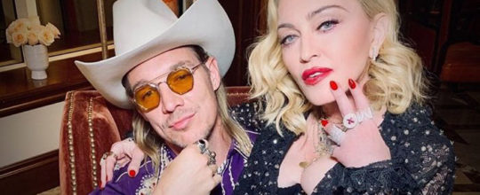 Madonna with Diplo