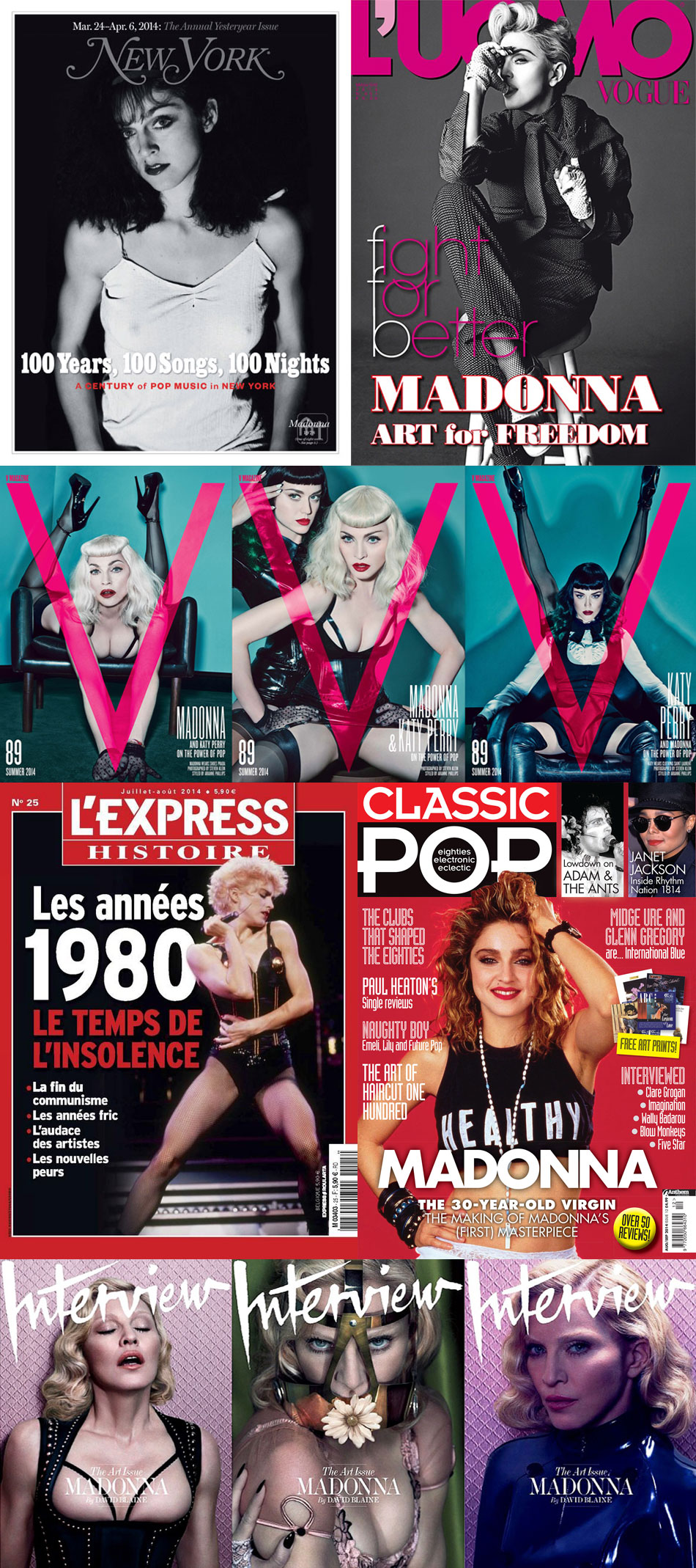 Madonna Best Covers 2014