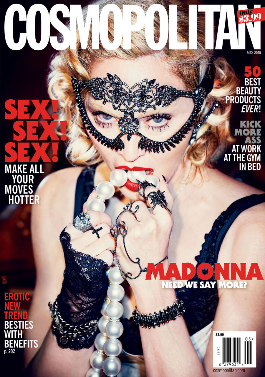 Madonna by Ellen Von Unwerth for Cosmopolitan