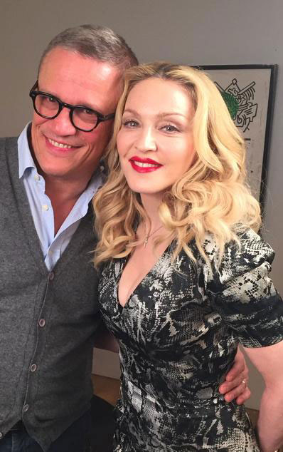 Madonna with Luca Dondoni