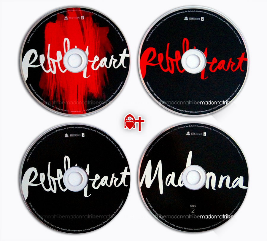 Rebel Heart Discs