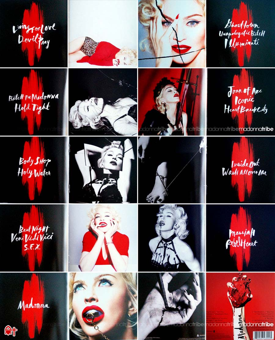 Rebel Heart Deluxe Edition Booklet