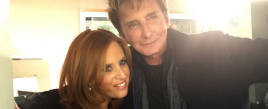 Barry Manilow with Jenny Hutt
