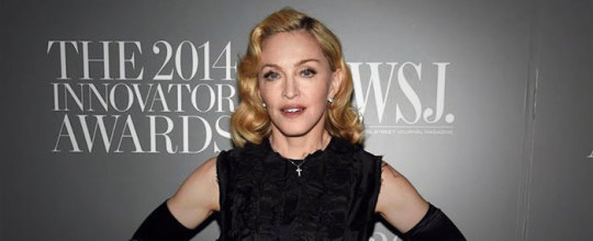 Madonna at the WSJ 2014 Innovator Awards