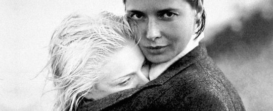 Isabella Rossellini and Madonna