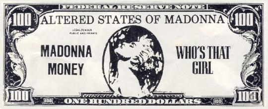 Madonna Money