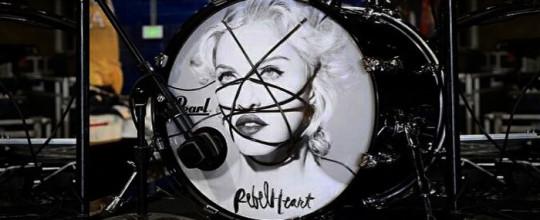 Madonna's drumkit