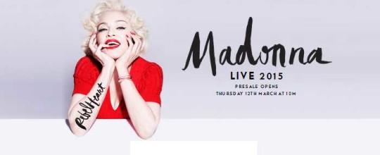 Madonna UK Tour