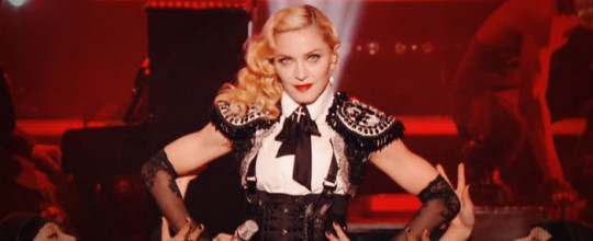 Madonna on Le Grand Journal