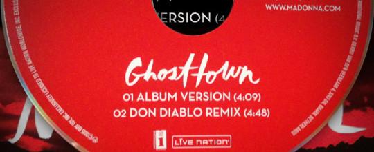 Ghosttown Single