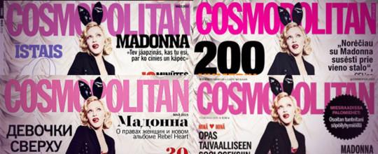 Madonna for Cosmopolitan