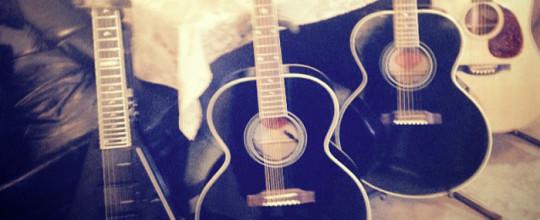 Madonna's guitars