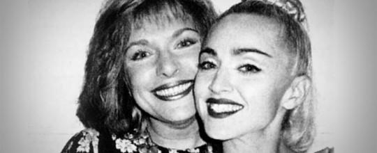 Madonna with Liz Rosenberg