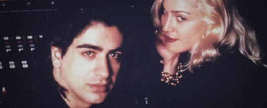 Alec Keshishian with Madonna