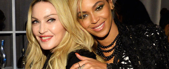 Madonna with Beyonce