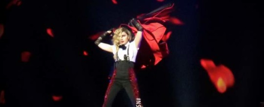 Rebel Heart Tour in Manchester