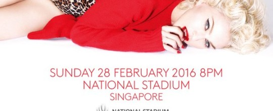 Rebel Heart Tour in Singapore