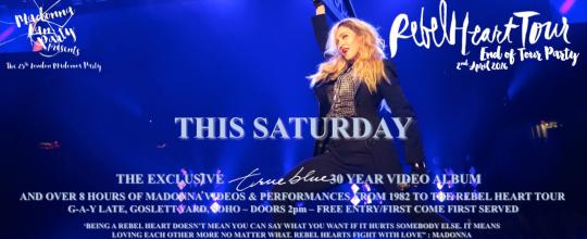 Madonna UK Fan Party